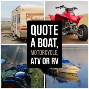 Boat Motorcycle RV Quotes Aliso Viejo, CA